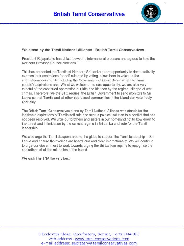 BTC Statement TNA