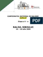 2009.06.15- Raliul SIBIULUI Regulament Part