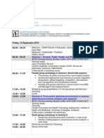 Programme EAHP Academy Pharmacoeconomics