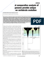 Sequence and Comparitive Analysis of the Chicken Genome Provide Unique Perspectives on Vertebrate Evolution