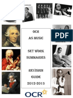 Set Work Revision Guide 2012-2013