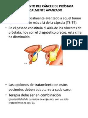 efectos secundarios de la terapia de lupron para el cáncer de próstata
