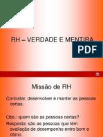 RH - Verdades e Mentiras