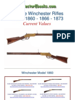 Winchester Rifles 1860 1866 1873 Current Values