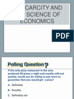 1.1 Scarcity and the Science of Economics