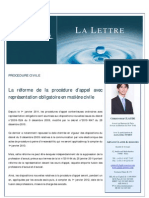 Lettre SELAS - Bulletin 37 - Mars 2011