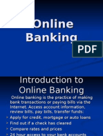 Case Study on Online Banking
