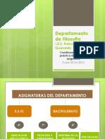 EVALUACION DEL PROFESORADO POR EL ALUMNADO. CURSO 2012_13