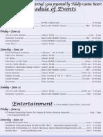 2009 Marysville Strawberry Festival Schedule