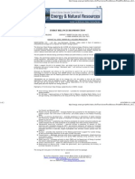 Senate Energy Committee Press Release