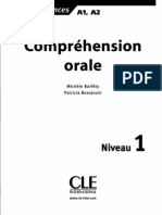 A1A2 Comprehension Orale