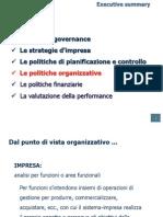 CV Organizzazione