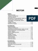 Manual Hyundai h100-2.5L