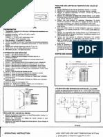 Mb-tmb880exf-21 - Temperature Clock Module