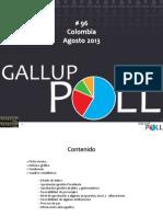 Gallup 96 Agosto 2013