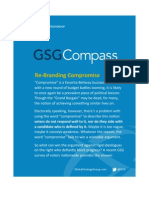 GSG COMPASS 2013 09 Re Branding Compromise