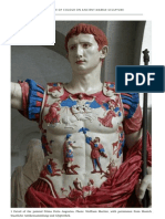 Colour on Ancient Marble Sculpture