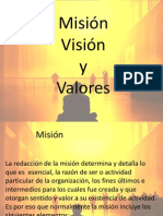Misión Visión Valores