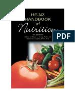Handbook of Nutrition