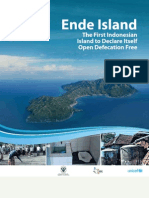 Ende Island. The First Indonesian Island to Declare Itself Open Defecation Free