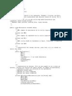 Codificacion Java Canibales y Mis
