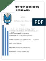 DISEÑO DE ELEMENTOE DE MAQUINAS
