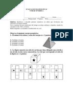 Evaluacion Matematicas 4 Basico Unidad 2