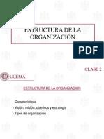 Clase 2 Organizacion