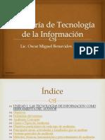 UNIDAD I. LAS TECNOLOGÍAS DE INFORMACIÓN COMO HERRAMIENTA DEL AUDITOR