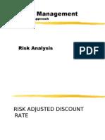 Risk AnalysisII