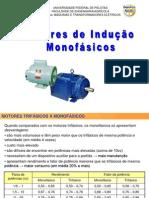 04 motores de indução Monofásicos