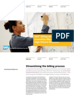 SAP Billing and Revenue Innovation Management for High-Volume Business