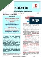 BOLETIN 1 2006- TRATAMIENTO FARMACOLÓGICO Y NO FARMACOLÓGICO DE LA ARTROSIS