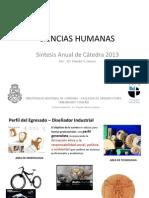 SINTESIS2013CIENCIAS HUMANAS