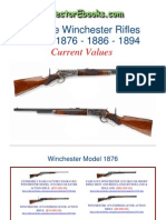 Winchester Rifles 1876 1886 1894 Current Values