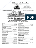 Parish Bulletin for September 8, 2013