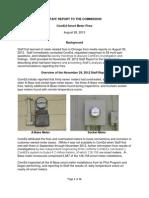 ComEd Smart Meter Fires--Staff Report 2013