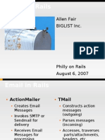 Email on Rails