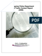 Contact Data Annual Report 2008