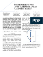 Attitude Monitoring and Surveillance System for Lapan Payload Test Rocket