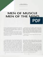 Men of Muscle Men of the Mind