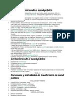 Evolución histórica de la salud pública 1.2