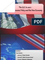 The U.S. In 2001 :Macroeconomic Policy and the New Economy