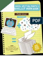 middle school workbook customizable v2
