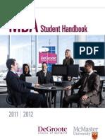 Mba Student Handbook 2011