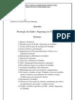 Segurança do trabalho téc em radiologia s.Francisco Apostila2