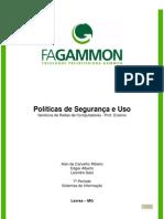 Políticas de Uso e Segurança - Ger Redes