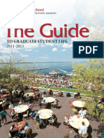 Guide to graduate students of university of wisconsin madison