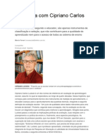 Entrevista Com Cipriano Carlos Luckesi