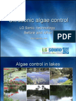 Effectiveness of LG Sonic for Algae Control